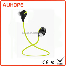 Bluetooth v4.0 long standby time 8H talk time 5.5H music time voice prompt multipoint usb charging stereo bt headset sport