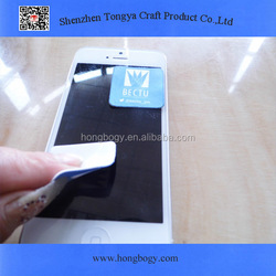 Microfiber printed mobile screen cleaner