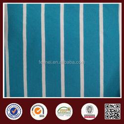 Blue White Yarn Dyed Stripe Fabric 100Cotton Yarn Knitted Fabric