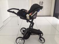 EN1888 2015 Aluminum Alloy good baby stroller 3-in-1 fashion stroller