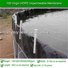 HDPE waterproof membrane/swimming pools,hdpe liner for shrimp farming