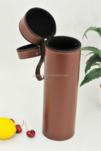 Customized bottle holder faux leather wine carrier