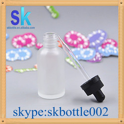empty glass bottle childproof cap e liquid bottle e juice welcome OEM