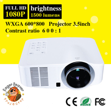 android projector full hd ready 1080P, 1500 Lumens with WIFI ,HDMI/TV/DVB
