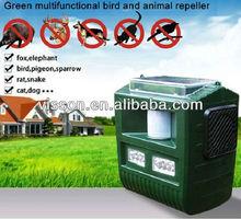 Effective garden solar ultrasonic wild electronic animal repeller for bird,pigeon,bat,sparrow,rat,snake,dog,cat,elephant,fox.