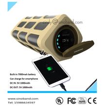 Sinoband S400 waterproof professional amplifier / car woofer with amplifier
