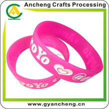 wholesale promotional silicone bracelets for arthritis for promotion