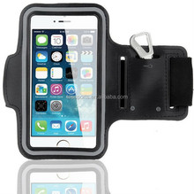 New waterproof running sports armband jogging case for iphone 6,5s with pocket for gym key
