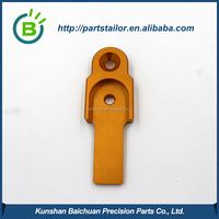 Precision gold anodized and sand blasting auto car parts,nissan parts BCR 0048