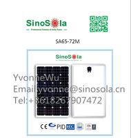 SinoSola Monocrystalline Solar Panel made by 125*125,65W
