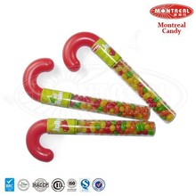 Candy Cane with Jelly Bean
