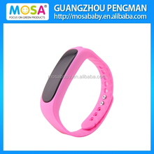 Hot Sale OLED Screen Call,SMS Vibration Alert Bluetooth Bracelet E02