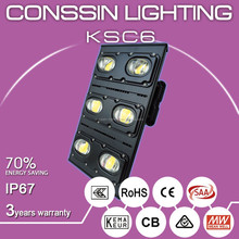 High lumen high power led flood light for tennis court CSA,RCM,SAA,ENEC approved