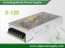 Factory direct dual power supply 120w 5v 12v switching power supply