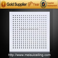 MEISUI China manufacturer Gypsum Ceiling Tiles, Acoustic Panel, Acoustic Ceiling