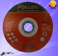"4"" 100mm Super Thin Cutting Wheel Stainless Steel Inox abrasive disk type cut off wheel"