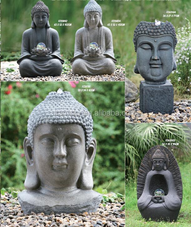 Jardin t te de bouddha b ton statue moules statues id de for Tete bouddha pour jardin