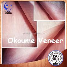 Okoume Veneer Veneer Paper/Table Top Veneer