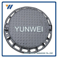 High Quality China OEM Manufacturer Custom Cast Iron Manhole Cover Price