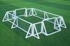 customized football soccer shin guard with air pump