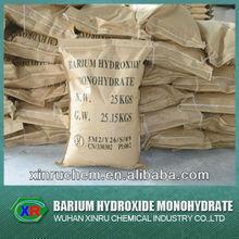 white powder/crystal barium hydroxide monohydrate Ba(OH)2.H2O