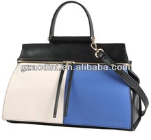 women bags, elegant lady genuine leather handbags by Guangzhou manufacturer