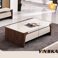 indian inlaid coffee table with edge guard