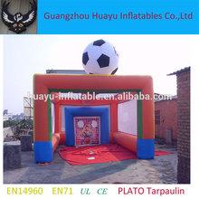 cancha de fútbol inflable gigante de la venta caliente