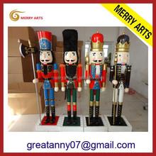 China supplier handicraft Antique Imitation the nutcracker 6ft nutcracker for anniversary celebration