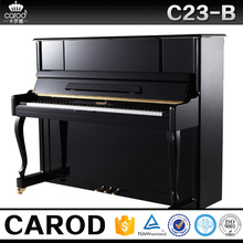 black upright studio baby console piano free delivery and set up warranty