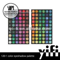 Wholesale!120-1 eyeshadow palette high quality makeup soluble light eyeshadow