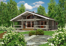New design wooden home