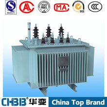 China supply of S9 series 11kv to 400v 300 kva power transformer