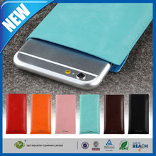 C&T Ultra thin slim blue leather protective sleeve for iphone 6 plus
