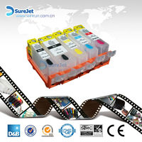 BCI-320 ink cartridge for canon with auto reset chip for Japan