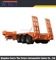 100 ton capacity brand new truck trailer Tri-axle low loader trailer for sale