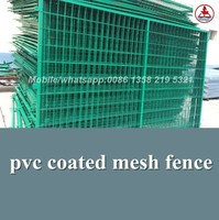 china anping factory pvc coated wire mesh fence