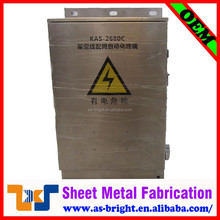 Newest design sheet metal fabrication stainless steel cabinet