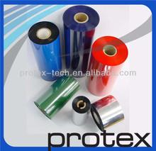 Protex promoção de vendas térmica cera / fita de resina para zebra TLP2844