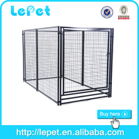 Heavy duty large outdoor dog kennel cage metal dog cheap cage