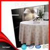 2015 new series wedding polyester jacquard table cover banquet vinyl tablecloth