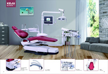 Foshan KJ-918 3-Memory Program Dental Chair Unit with LED sensor lamp light cure and scaler,CE