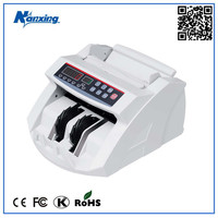 Cheap Money Counter Counting Machine with UV MG IR Counterfeit Detections for All Currencies NX-730