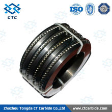 High Quality 140*90*15mm tungsten carbide wire-flattening and forming roller mills