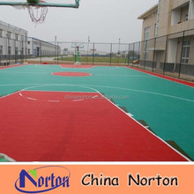 outdoor sport courts floor roll/pvc basketball flooring covering NTF-PS101B