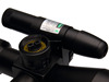 Tactical riflescope 2.5-10x40 with red laser sight/Illuminated Mil Dot Reticle 1/4 MOA Red Laser