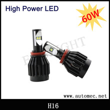 2015 New product high power 60W All in one H16 LED Headlight bulbs