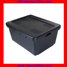 705*545*335mm Big Storage Transparent Plastic Packaging Box with Lid