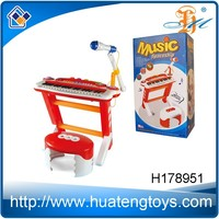 Popular Funny Plastic Children toy piano keyboard with microphone H178951