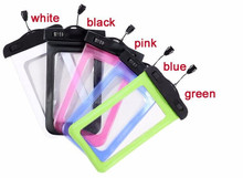 5.5'' PVC Waterproof bag Underwater Pouch Case For iphone 6 /Samsung galaxy note 4 3 2 S6 S5 S4 S3 phone Cover